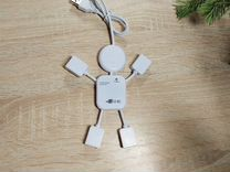 USB-разветвитель на 4 порта (новый)
