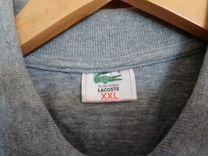 Футболка серая (100 Хлопок) Lacoste Поло — Одежда, обувь, аксессуары в Москве