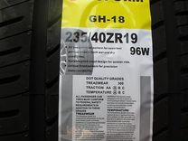 Новые летние шины goform GH18 235/40R19. New